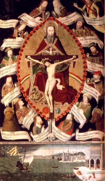 Retable de la Trinité (Anonyme, 1489, Musée Rigaud, Perpignan)