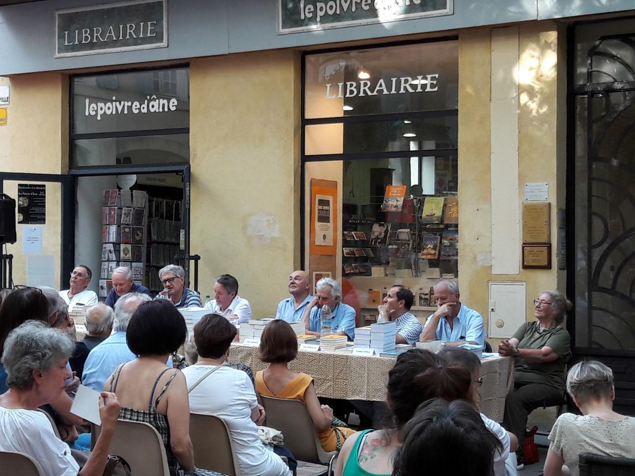 03/08/2017, Librairie Le poivre d'âne, Manosque