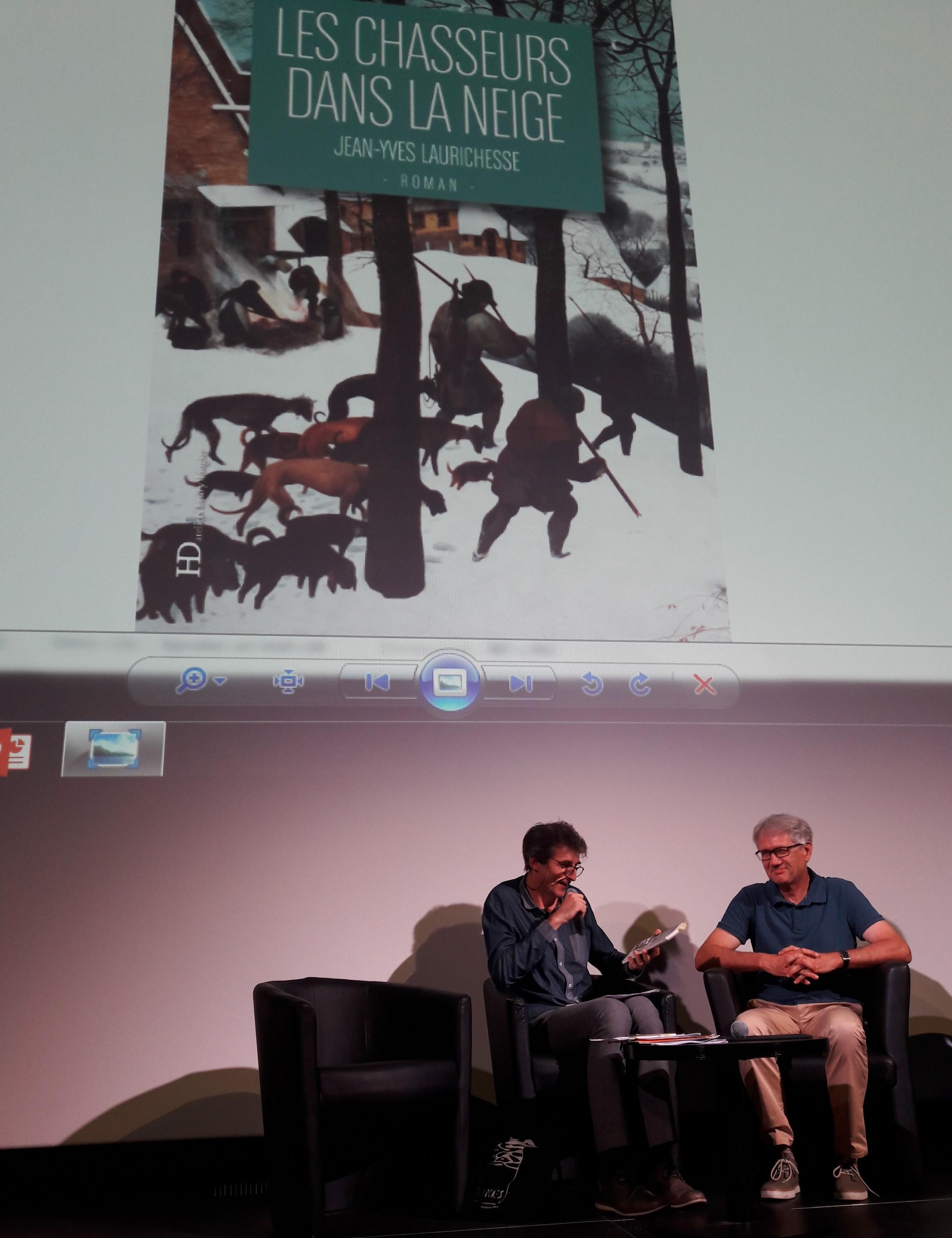 17/09/2018, Rentrée littéraire, Cinémathèque de Toulouse (avec Jean-Antoine Loiseau)