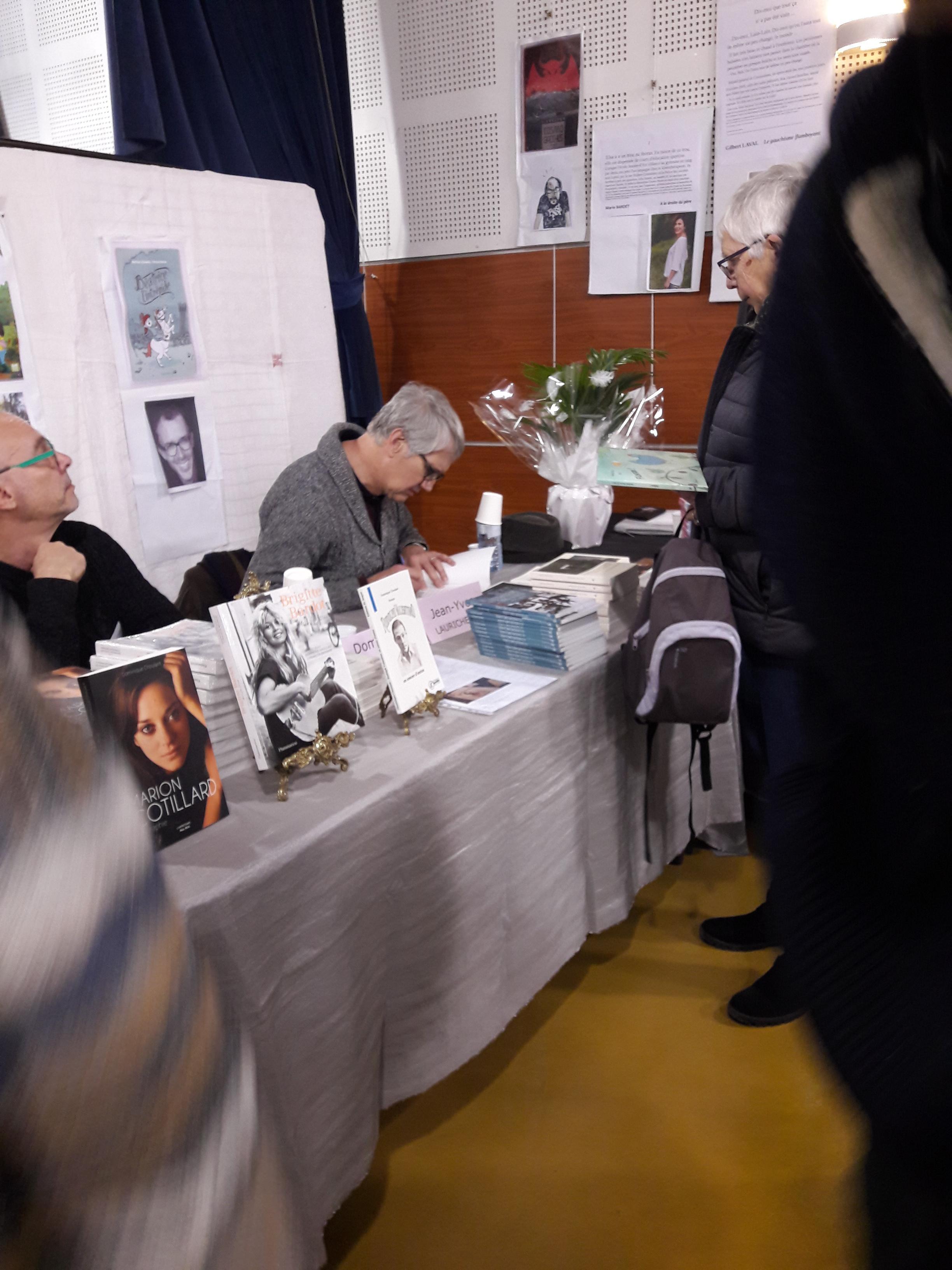 20/01/2019, Salon du livre d'hiver, Montgiscard (31)