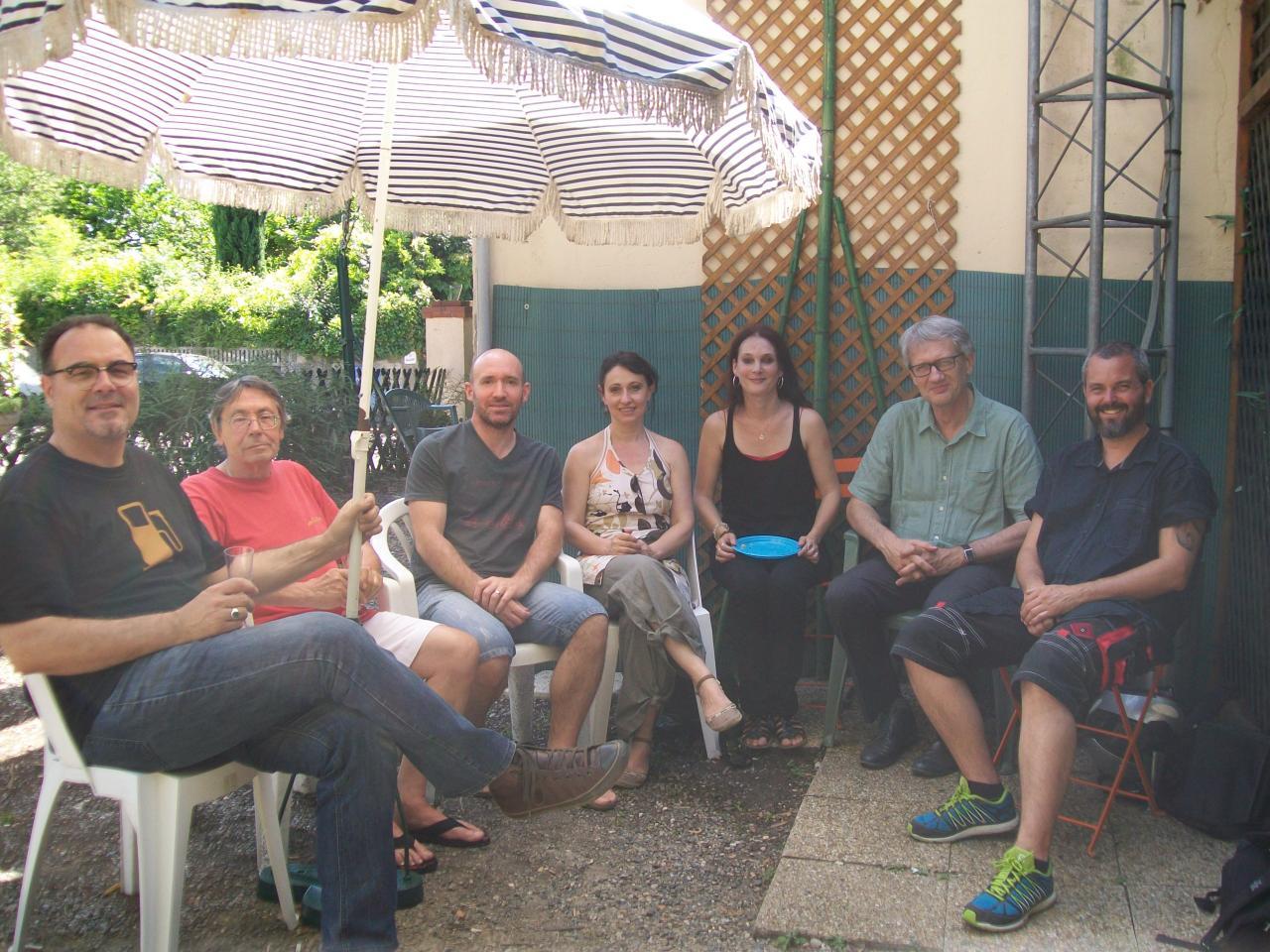 """26/06/2015, les 10 ans de """"Page à page"""" (Radio Occitania)"""