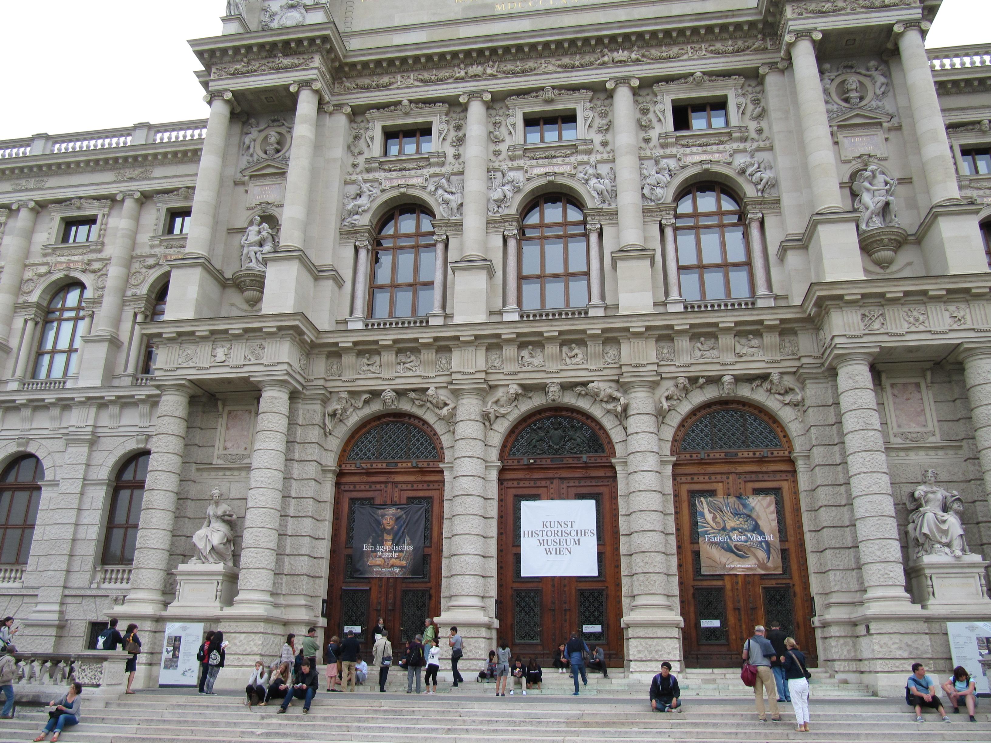 Kunsthistorisches Museum, Vienne, 19 août 2015
