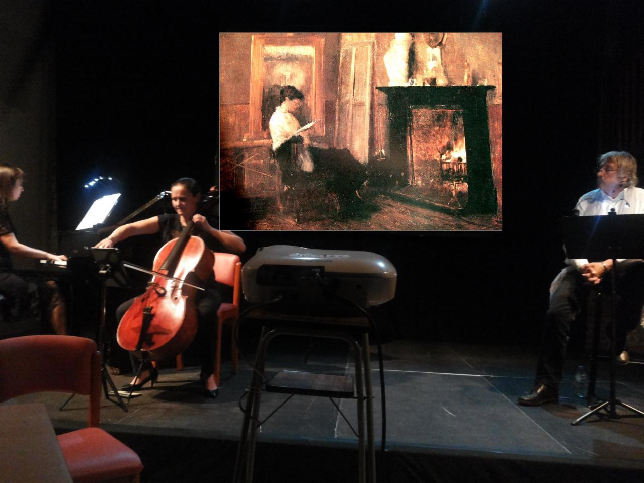 """20/11/2015, """"Place Monge"""", Cornebarrieu (31), Ana Cogan, Mélody Giot, Hyacinthe Carrera"""