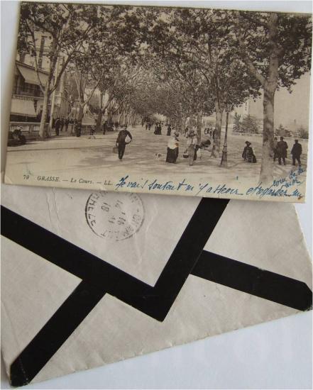 Gabrielle à Pierrot, Grasse, 4 février 1923