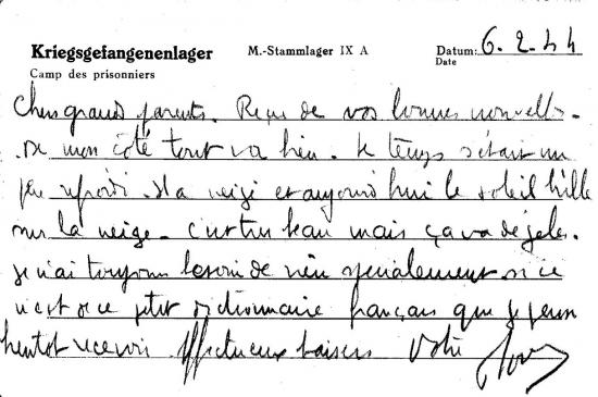 Westphalie, 6 février 1944