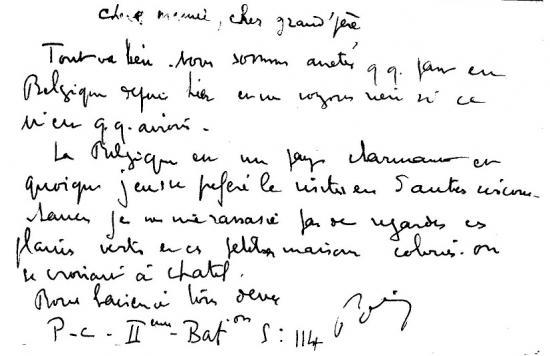 Belgique, mai 1940