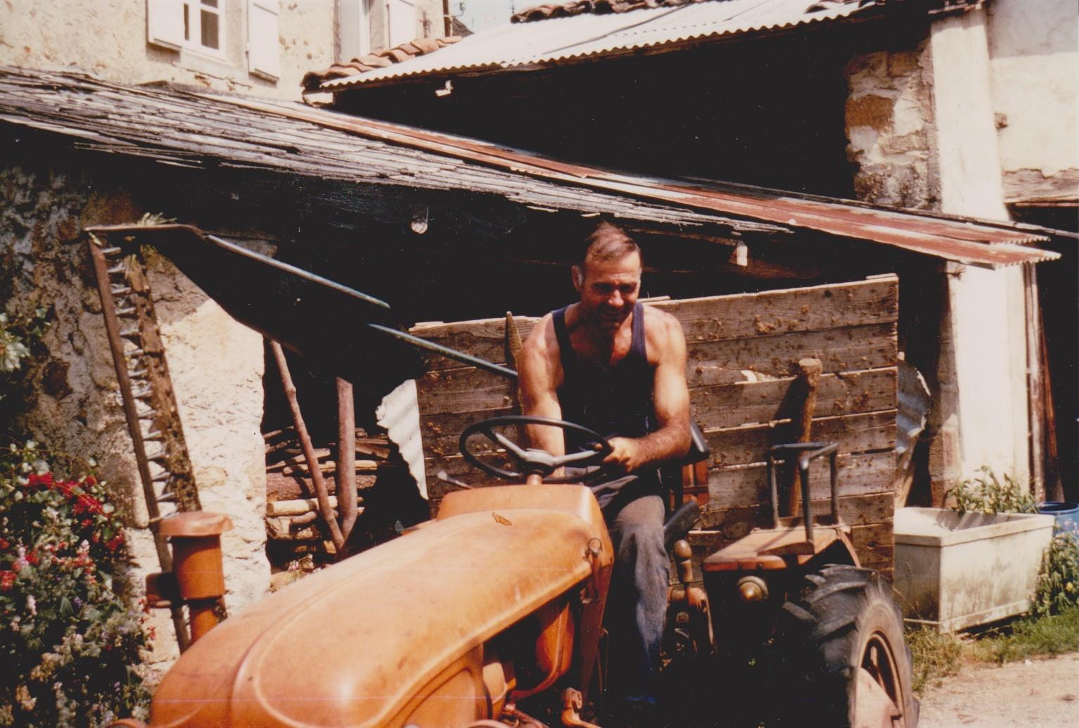 Jeannot, Saint-Chamant, Corrèze, années 1970