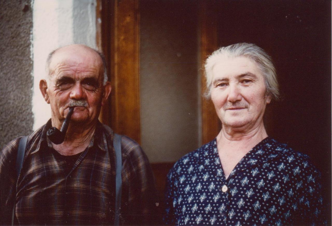 Corrèze, années 70