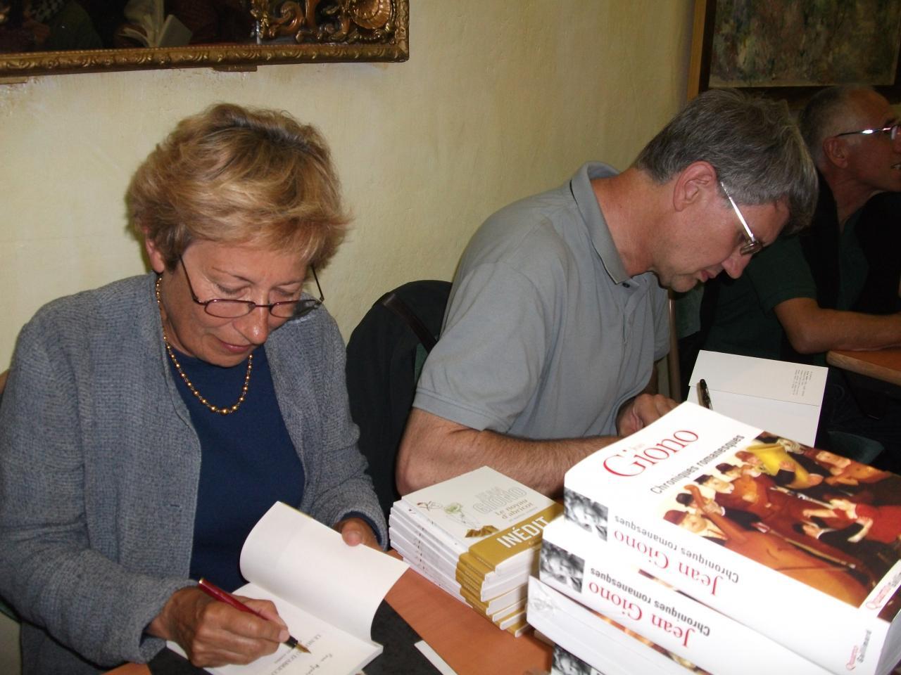 27/07/2011, Hôtel de ville, Manosque (avec Mireille Sacotte)