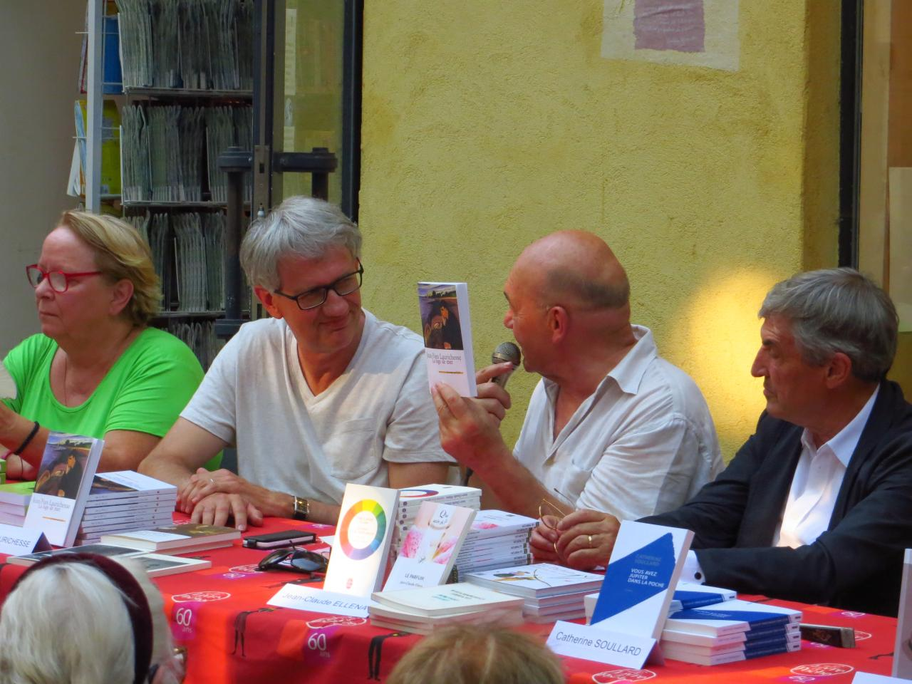 06/08/2015, Librairie Le poivre d'âne, Manosque