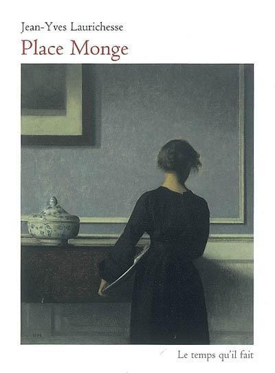 """Vilhelm Hammershoi, """"Intérieur avec femme debout vue de dos"""" (début XXe s.)"""