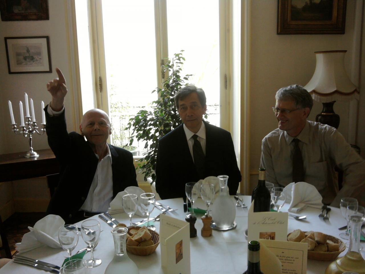 16/04/2013, Prix ARDUA, Bordeaux (avec Pierre Michon et Gérard Peylet)