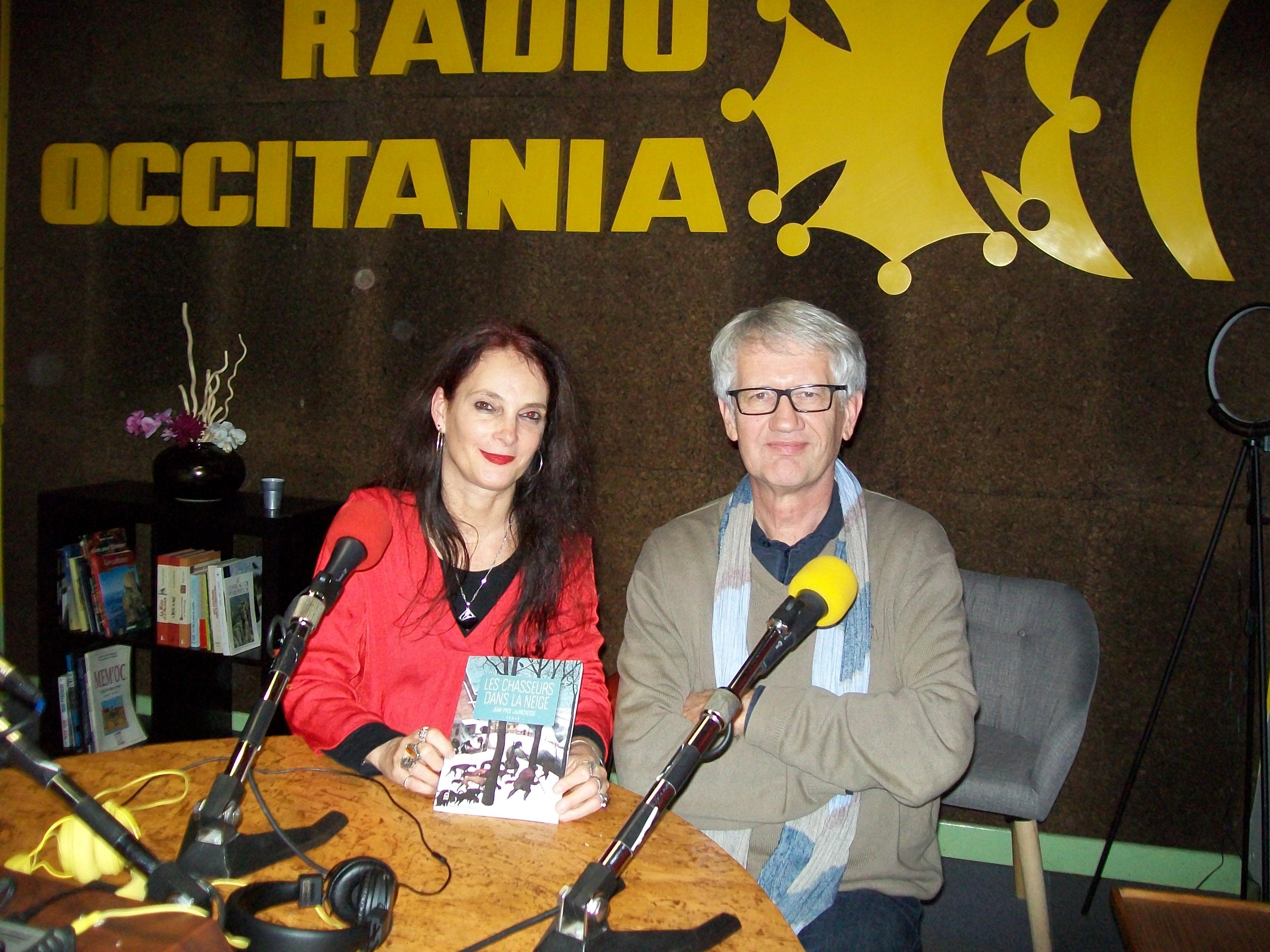 """23/11/2018, Radio Occitanie, """"Page à page"""" (avec Claire Ambill)"""