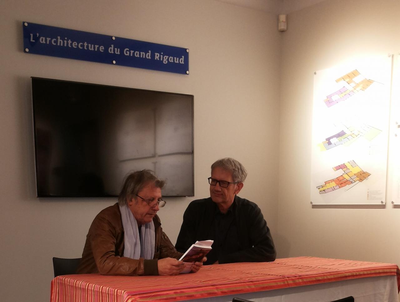 13/11/2015, Musée Hyacinthe Rigaud, Perpignan (avec Hyacinthe Carrera)