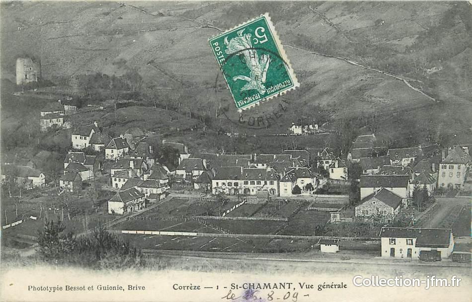 Saint-Chamant, Corrèze